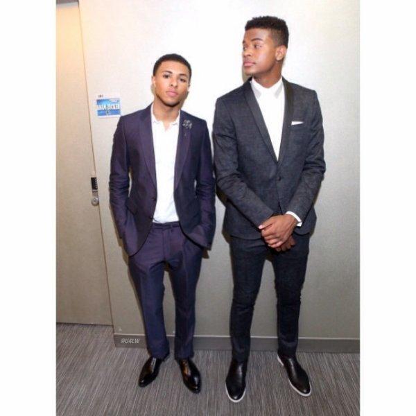 7 Mai 2014: Diggy et Trevor Jackson était sur le plateau du 106&Park pour la sortie du single et du clip extrait du prochain album de Diggy