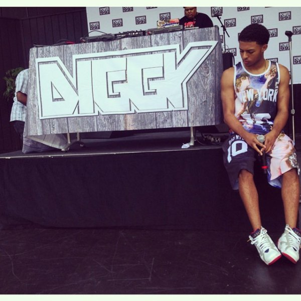 23 Juillet 2014: Diggy a donné un concert en Philadelphie
