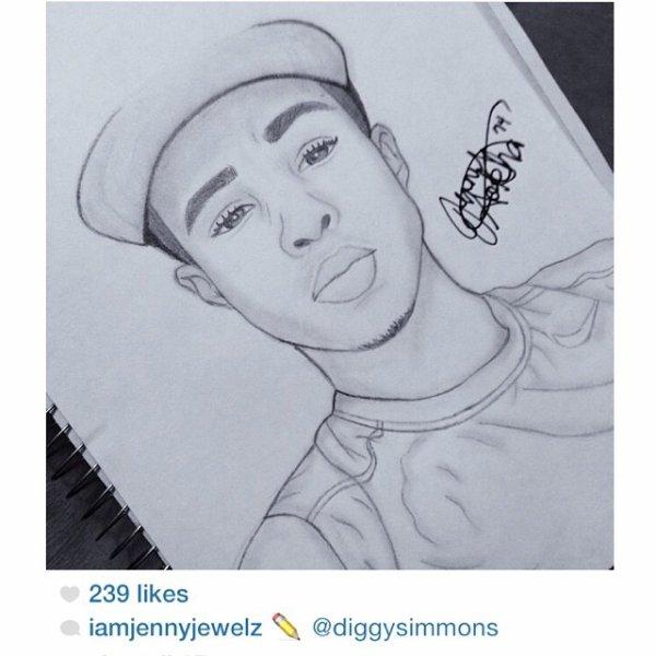 26 Juillet 2014: Diggy était en Floride du Sud il a posté quelques photos