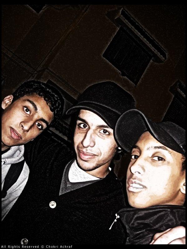 Zakaria & Yassine & Moi