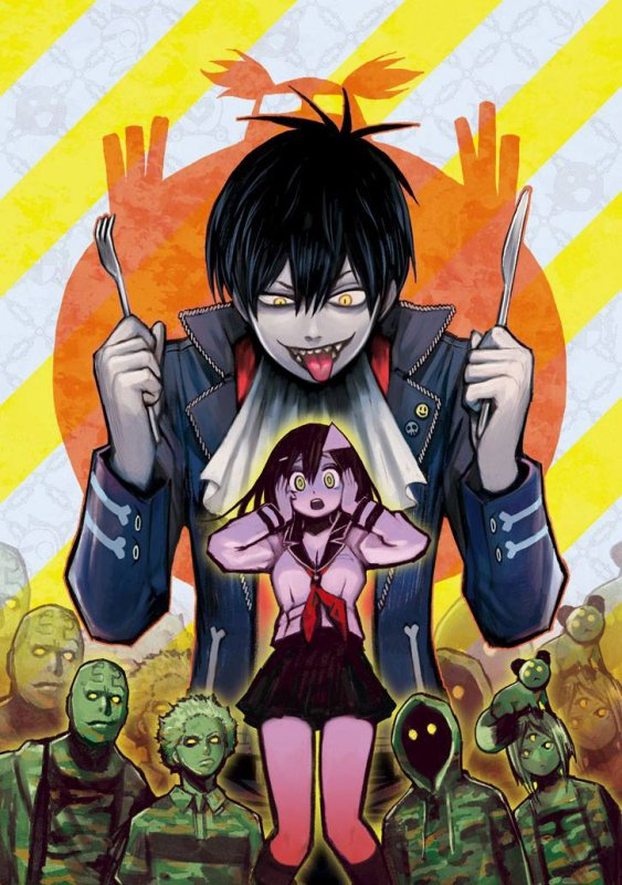Scans Blood Lad anglais