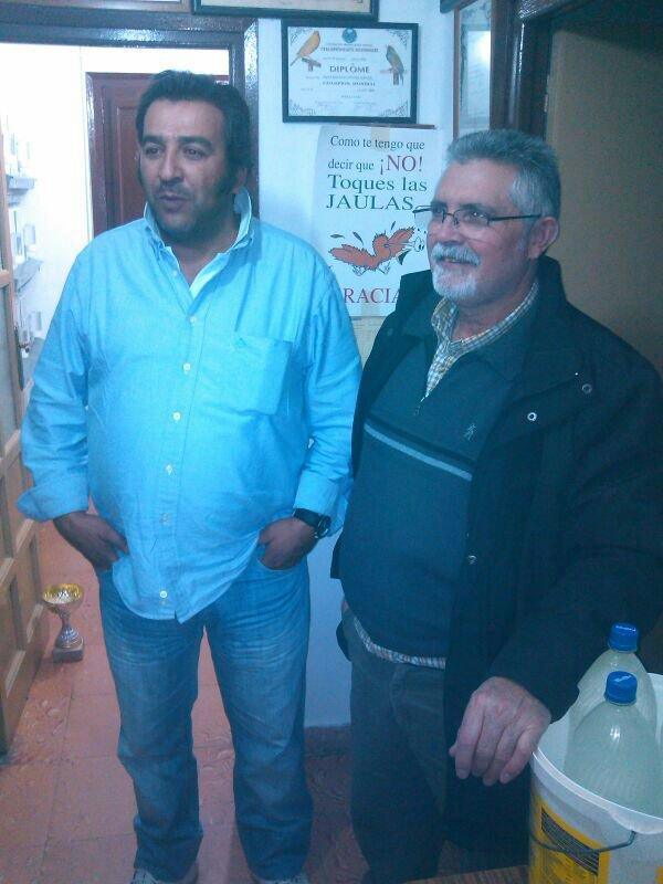 EN EL AVIARIO DEL AMIGO RAFAEL MALAGON