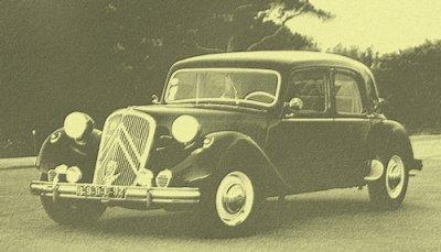 Sidi Brahim :La citroen 7cv parmi les premières voitures du village :1951