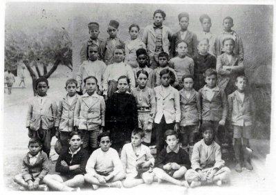Sidi Brahim -Prudon : Photo de classe 1934