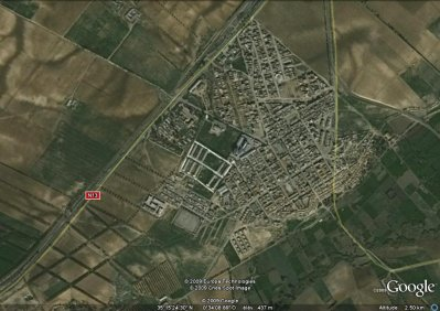 Sidi Brahim sur Google Earth