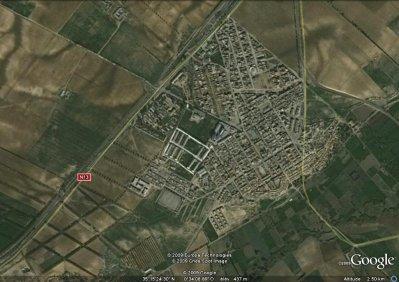 Sidi Brahim sur Google Earth