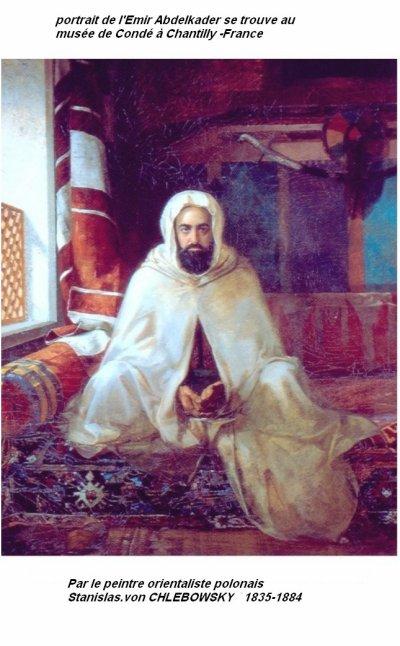 Emir Abd-el-Kader :portrait