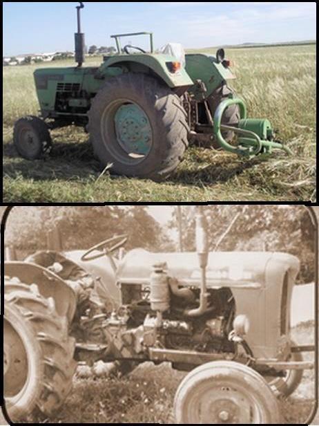 SIDI BRAHIM :Tracteurs agricoles