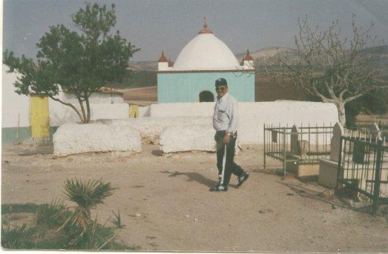 photo du mausolé de SIDI MAACHOU de Ain El Berd.1984