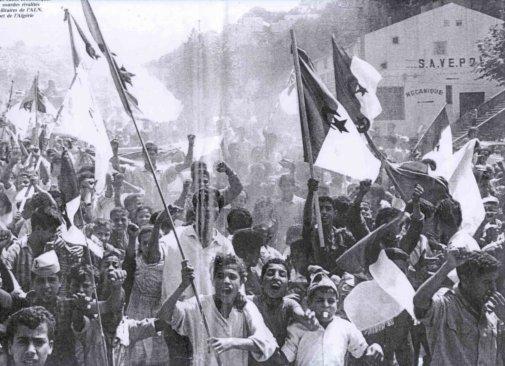 Bonne Fête De Lindépendance De Lalgerie 5 Juillet 1962