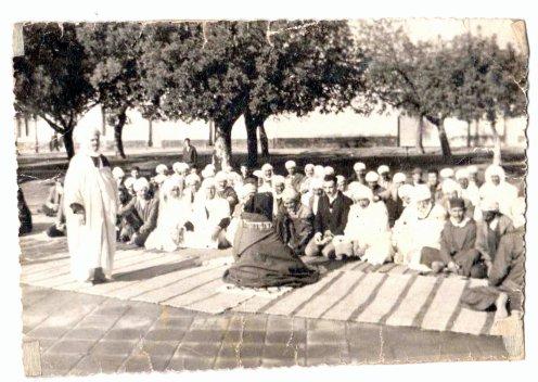 SIDI BRAHIM : la prière de l'aid -صلاة عيد الفطرفي سيدي براهيم  -1949