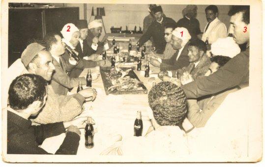 Un déjeuner de mechoui 1967