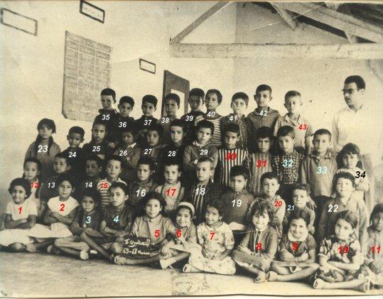 Sidi Brahim :de Sidi Bel Abbes : Photo de classe 1968-69