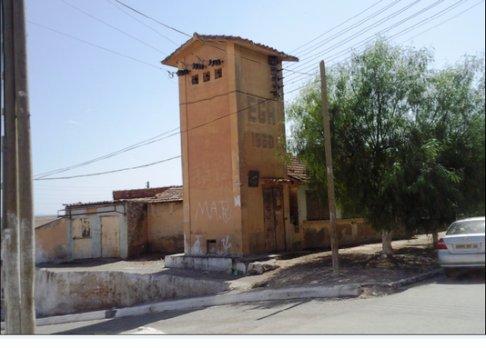 Sidi Brahim : la poste d'énergie électrique. EGA - 1950