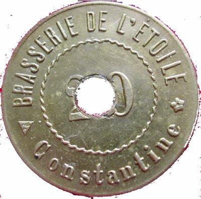 Pièces de monneais : Banque d'Algérie