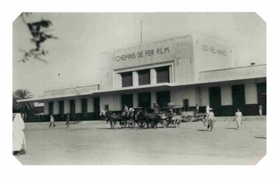 La gare de Sidi Bel Abbès : évolution