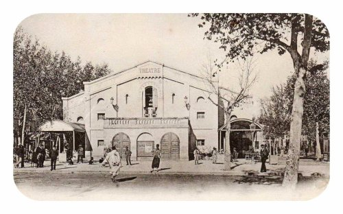 Le theatre de Sidi Bel Abbès : photos anciennes.