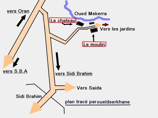SIDI BRAHIM : غار بلوز Une vérité sur le château de Sidi Brahim : le trou de BLEUZE.