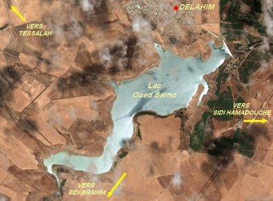 Le barrage de Oued Sarno .