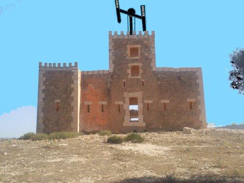 Le télégraphe de Sidi Brahim : Prudon - 1845