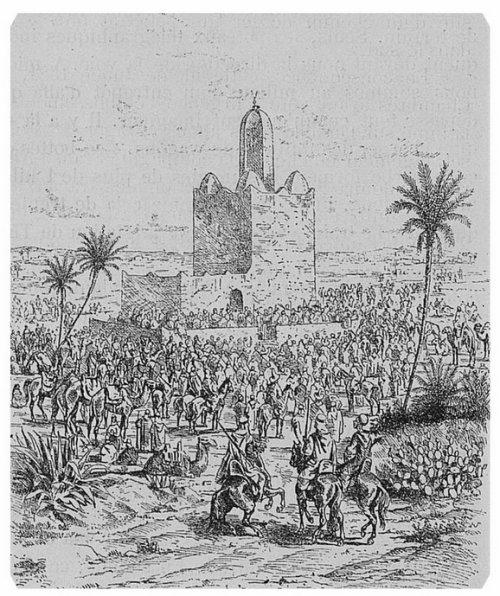 Un témoignage sur la splendeur et la magnificence de l' Emir ABDELKADER.