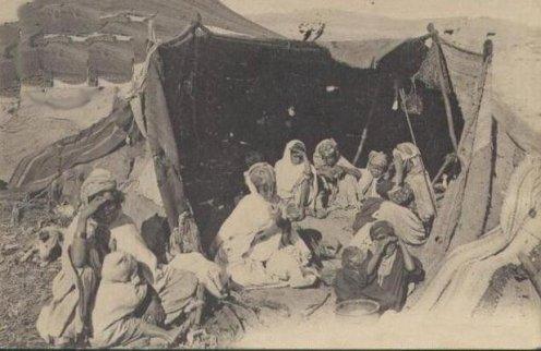 Le nombre des tentes des Beni Amer en 1847عدد خيام بني عامر
