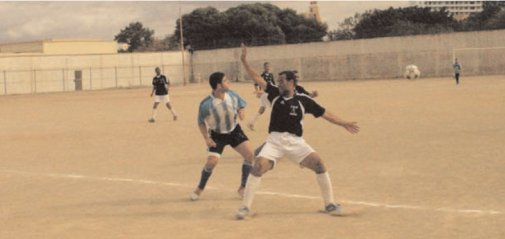 Sidi Brahim : l'équipe de foot en régionale une ( mai 2011 )