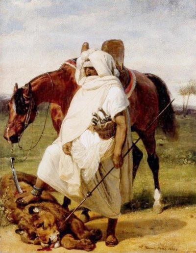 Sidi Hamadouche : Demouche le chasseur de lion.