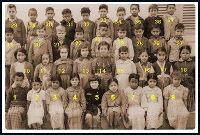 Sidi Hamadouche : Photo de classe 1956 - 57