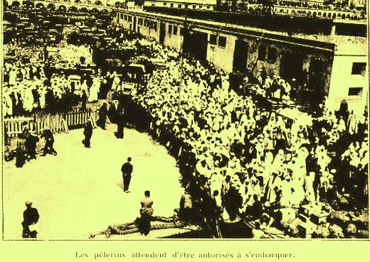 Le pèlerinage à la Mecque sous la domination turque et l'aide envoyée d'Alger aux pauvres des lieux saints....Dr Douar