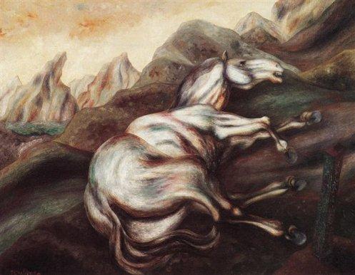 La légende de Dhaya--Le tas de pierre du cheval.