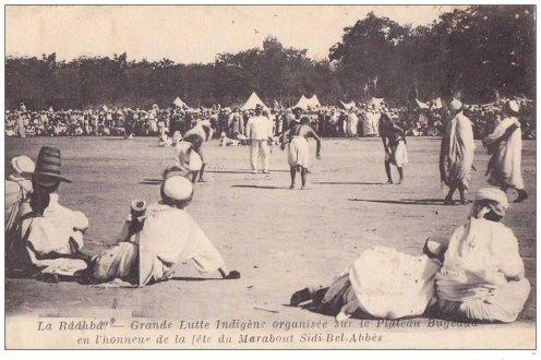Les Fêtes de la Ouadda à Sidi Bel Abbès en1921.