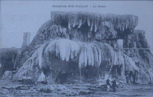 HISTOIRE DE LA CREATION DU VILLAGE  DE HAMMAM-BOU-HADJAR .