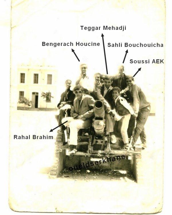 Les Tanks (obusiers) de Sidi Brahim