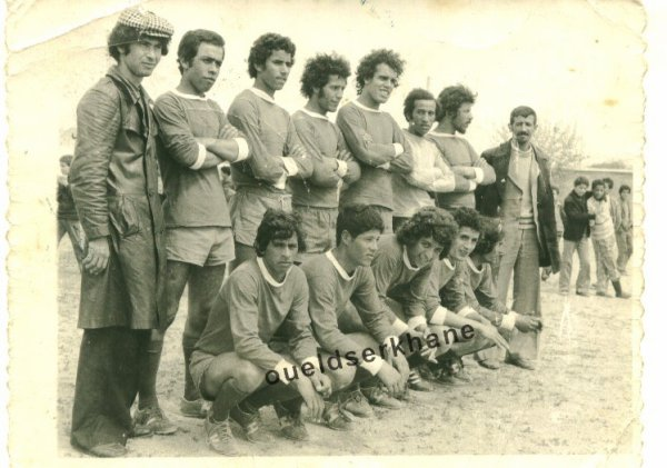 L'équipe de Sidi Brahim 1975.