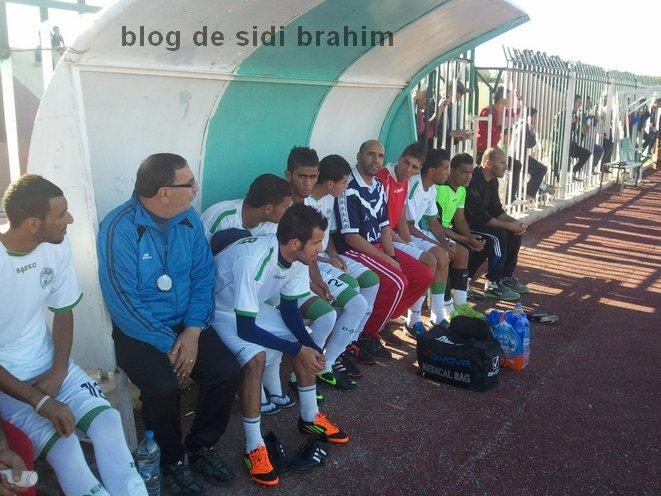 Match amical SIDI BRAHIM X USMBA 20-11-2012