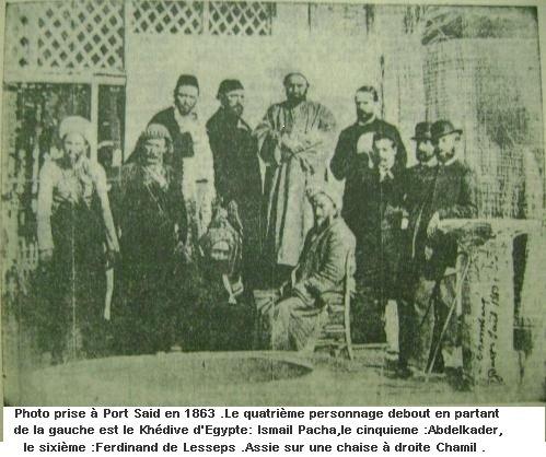 L'Emir Abdelkader ,son passage marquant en Egypte.
