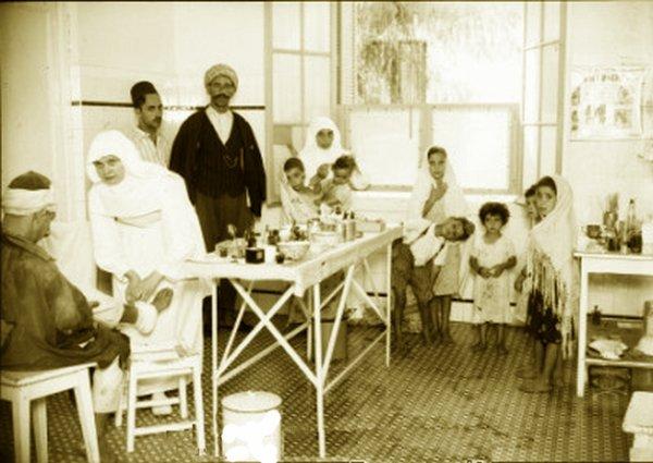 Photos anciennes d'un hospice