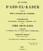 Abdelkader :Philosophe ,ethnologue...incontestable,avéré par une corporation savante.        par Dr Douar.