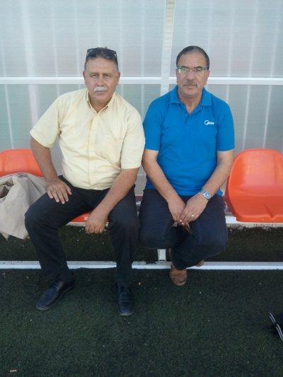 Le nouveau/ancien coach de l'équipe de Sidi Brahim : Mr Sennour Abdelkader.
