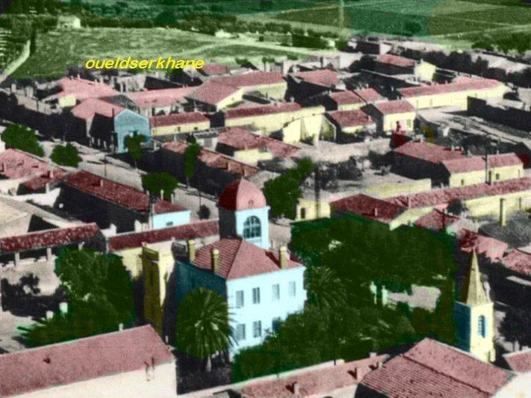 Sidi Brahim à une certaine époque : vue de haut