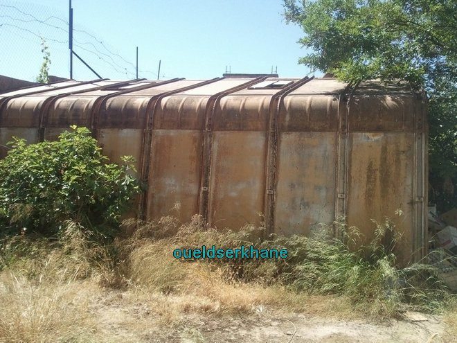 Sidi Brahim : Une vieille classe métallique