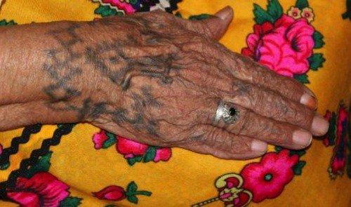 Les tatouages de ma mère .Dr Douar