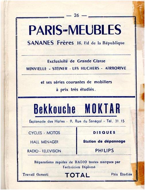 Arrêt sur Sidi Bel Abbès en 1960 : par Pr Khiat