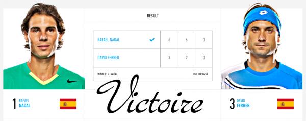 Masters Cup - Londres / v David Ferrer