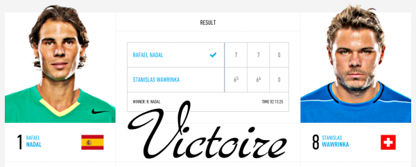 Masters Cup - Londres / v Stanislas Wawrinka