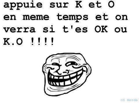 KO ou OK ?