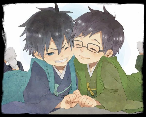 Little Rin and Yukio