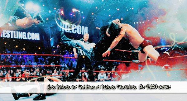 Les prises de finitions de Jeff Hardy et ses préférés