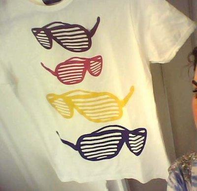 T-shirt Lunette!